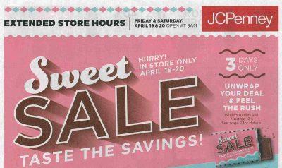 JCP Sweet Sale