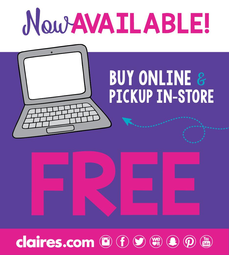 Buy Online Pickup in Store 1