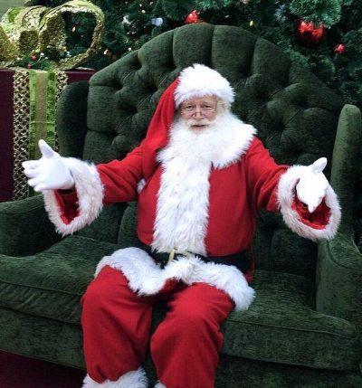 Santa on Set