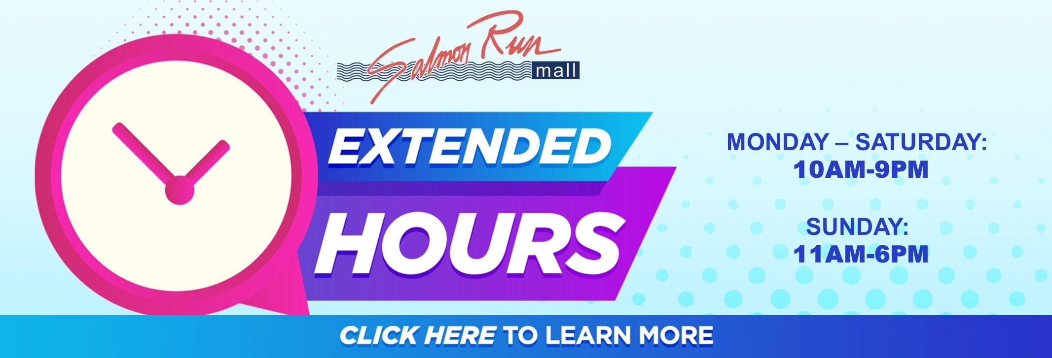 Extended Hours Slider