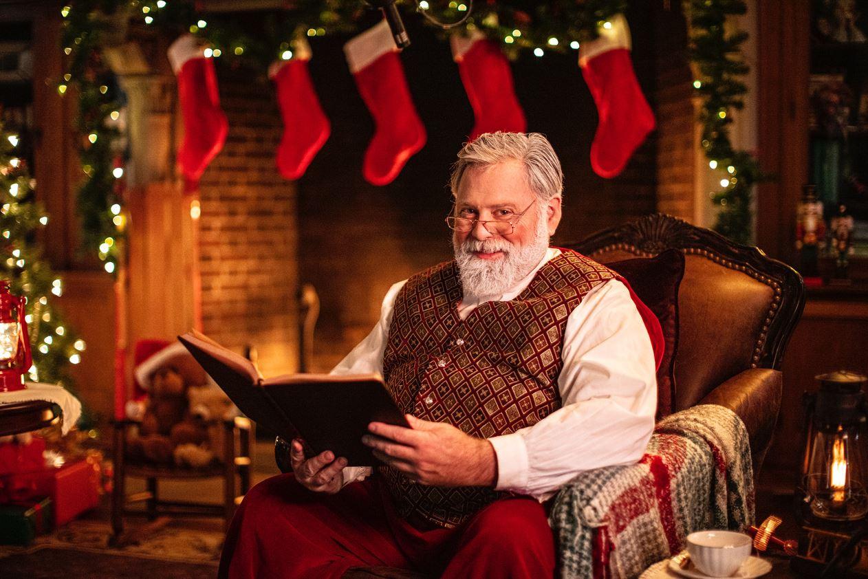 Santa with Book 1