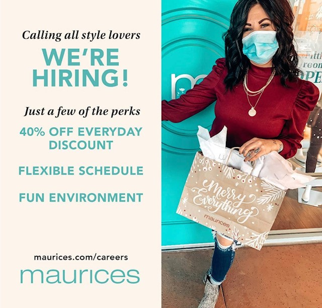Maurices Now Hiring