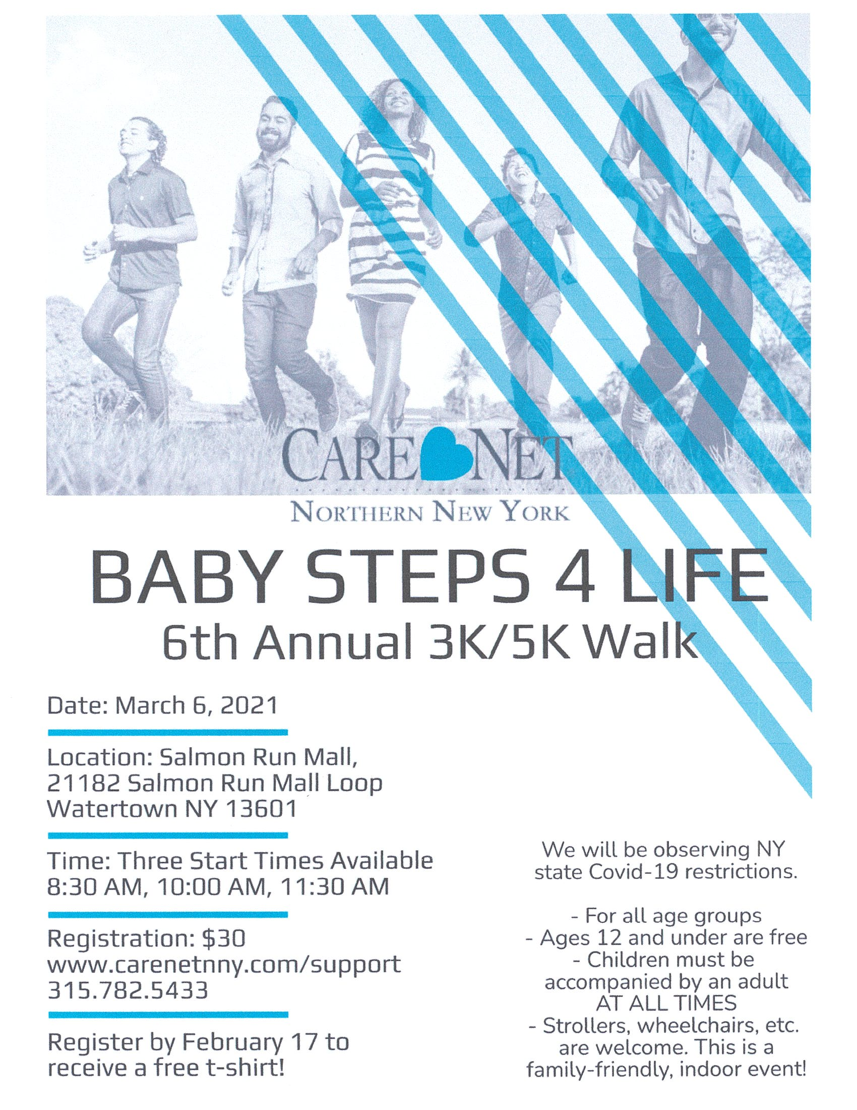 Baby Steps4Life Flyer 2021