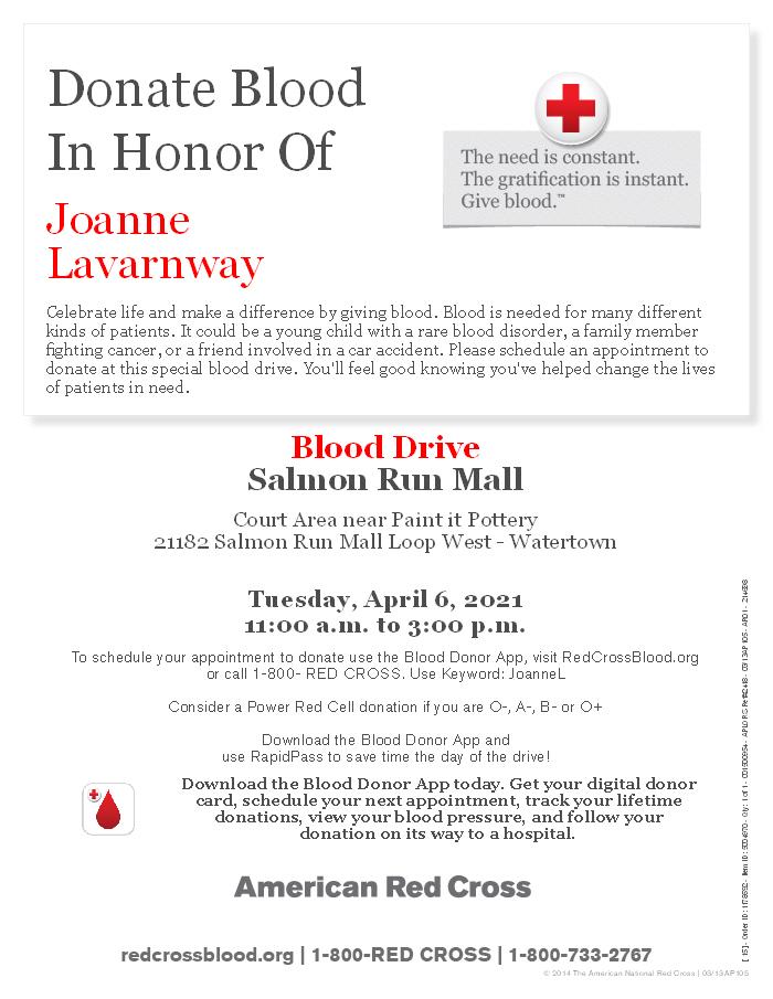 Lavarnway Fundraiser