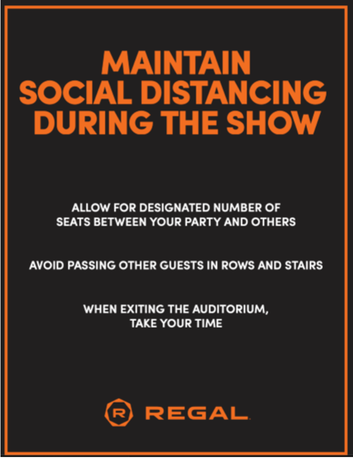 Signage Social Distancing